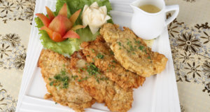Fried Chicken Steak with Lemon Butter Sauce Recipe | Masala Mornings