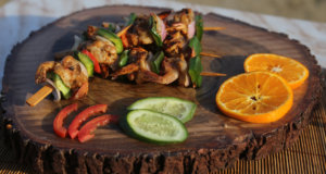Grilled Prawns Kabab Recipe | Lazzat