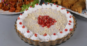 Pomegranate and White Chocolate Pie Recipe | Masala Mornings