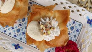 Rasmalai Mousse in a Pastry Recipe | Food Diaries