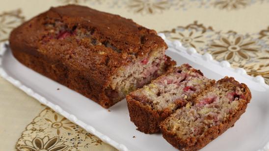 Strawberry Banana Bread Recipe | Food Diaries