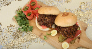 Shredded Beef Burger Recipe | Dawat