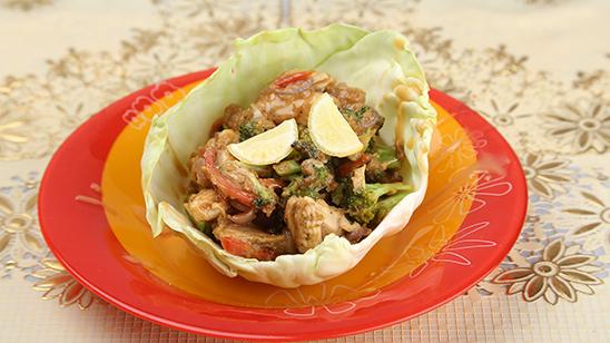 Thai Peanut Butter Chicken Recipe   Dawat