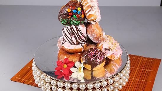 Crispy Creamy Donuts Recipe | Masala Mornings