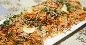 Chicken Tikka Biryani Recipe | Dawat
