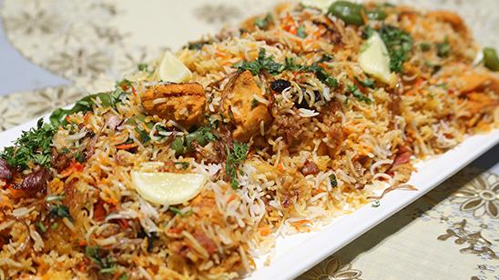 Chicken Tikka Biryani Recipe | Dawat
