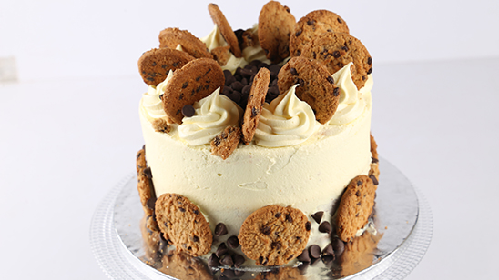 Chocolate Chip Cookie Cake Recipe | Bake At Home