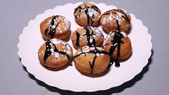 Chocolate Donuts Recipe | Flame On Hai