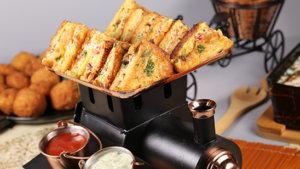 Fried Hunter Beef Sandwiches Recipe | Masala Mornings