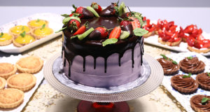 Fresh Strawberry Cake Recipe | Masala Mornings