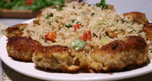 Garlic Fried Rice Recipe | Tarka