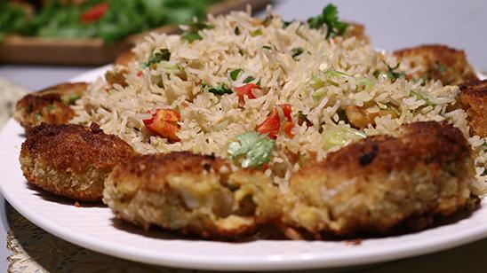 Garlic Fried Rice Recipe   Tarka