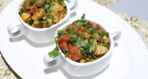 Gobi Matar Ki Sabzi Recipe | Tarka
