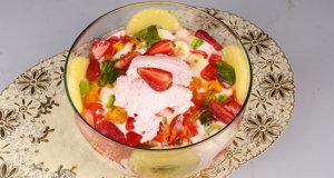 Ice Cream And Jelly Custard Recipe | Tarka
