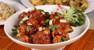 Kung Pao Chicken Lollipops Recipe | Lazzat
