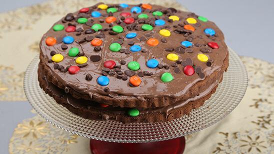 Layered Birthday Cake Recipe | Masala Mornings