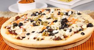 Mexican Pizza Recipe | Dawat