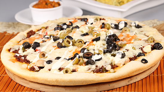 Mexican Pizza Recipe   Dawat