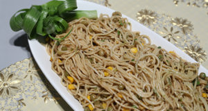 Peanut Butter Noodles Recipe | Dawat