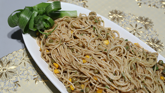 Peanut Butter Noodles Recipe | Dawat
