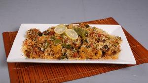 Restaurant Style Vegetable Biryani Recipe | Dawat