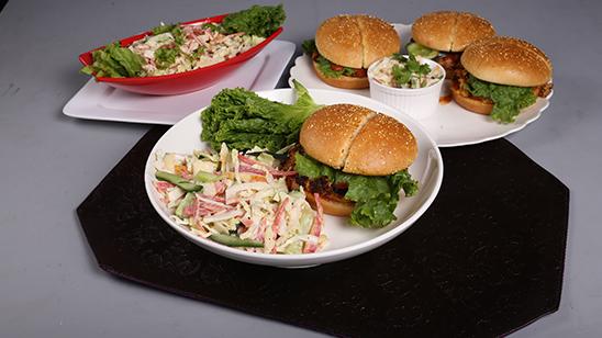 Spicy Tikka Burger Recipe | Tarka