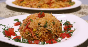 Tandoori Fried Rice Recipe | Lazzat