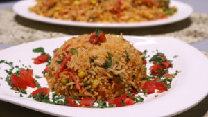 Tandoori Fried Rice Recipe | Lazzat