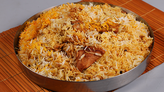 Tandoori Chicken Biryani Recipe | Lazzat