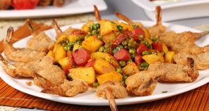 Vegetables With Prawns Recipe | Tarka