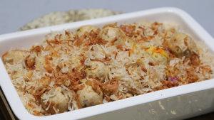Zafrani Kofta Pulao Recipe | Lazzat
