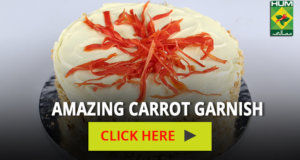 Amazing Carrot Garnish | Totkay