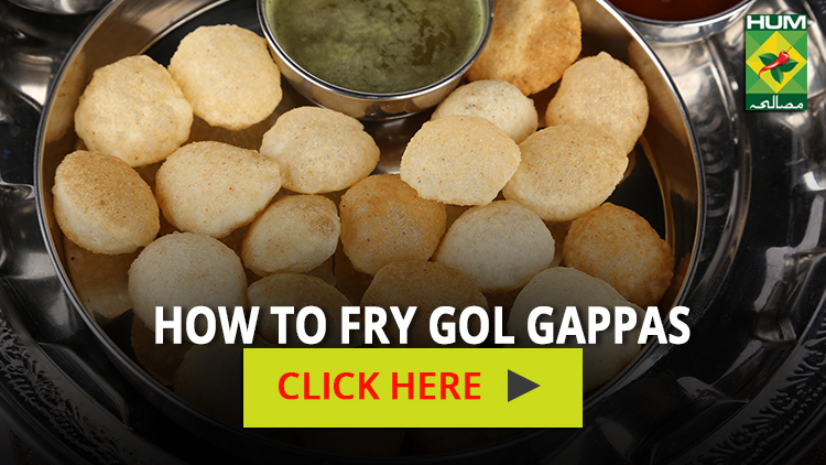 How to Fry Gol Gappas | Totkay