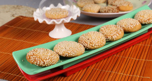 Tahini Cookies Recipe | Food Diaries