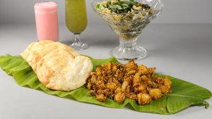Puri Bhaaji Recipe | Food Diaries