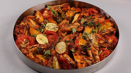 Baked Afghani Wings Recipe | Tarka