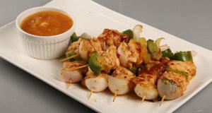 Chicken Pineapple Skewers Recipe | Masala Mornings