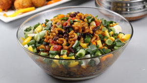 Chili Bean Pasta Recipe | Tarka