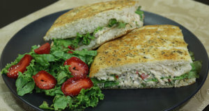 Focaccia Sandwich Recipe | Flame On Hai