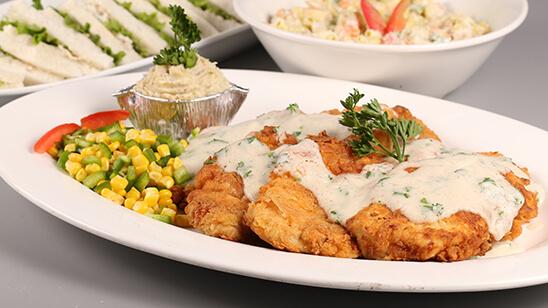 Fried Chicken Steak Recipe | Lazzat