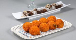 Frozen Corn Cheese Balls Recipe | Dawat