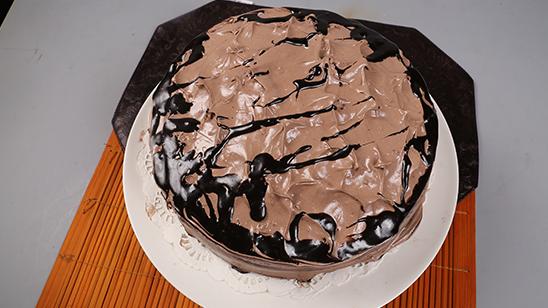 Gooey Chocolate Cake Recipe | Masala Mornings