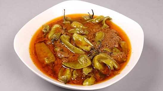 Hyderabadi Mirchon Ka Salan Recipe | Dawat