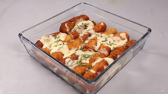Mayonnaise Chicken Cheese Candy Recipe | Masala Mornings