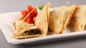 Peas Cheese Triangles Recipe | Dawat
