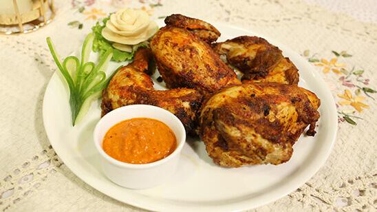 Peri Peri Grilled Chicken Recipe | Masala Mornings