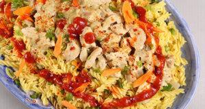 Reshmi Chicken Pasta Recipe | Tarka