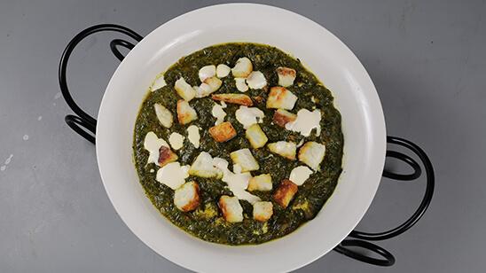 Special Palak Paneer Recipe | Tarka