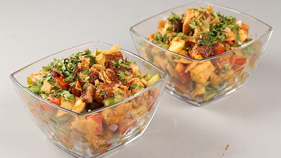 Tandoori Masala Chicken Chaat Recipe | Lazzat