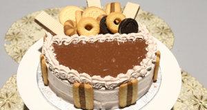 Assorted Cookies Cake Recipe | Flame On Hai
